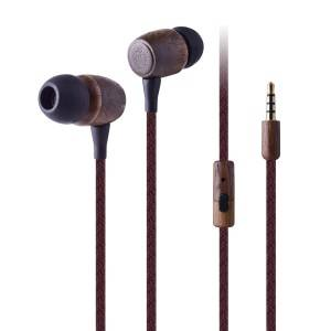 FSC wooden earphone