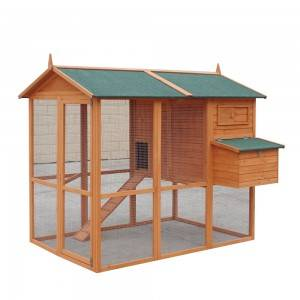 P512 Weather-Proof Chicken Coop Wth Storage And Large Space