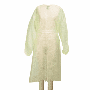 China supplier disposable Non-Woven PP Isolation Gown for hospital