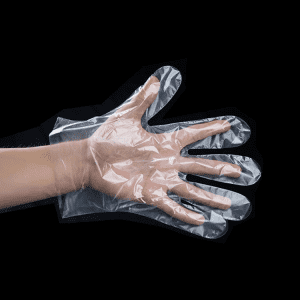 High Quality polyethylene Disposable Food Preparation kitchen cleaning gloves for cooking