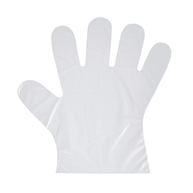 hot selling products disposable biodegradable plastic pe gloves for cooking
