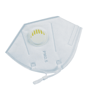 Air breathing protective respirator hepa filter face mask with earloop