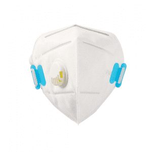FFP2 Safety Respirator Disposable Non-woven Foldable Air Anti Pollution Dust Face Mask Filter