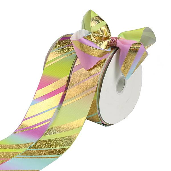 China Manufactur standard Ribbon For Crafts - hologram