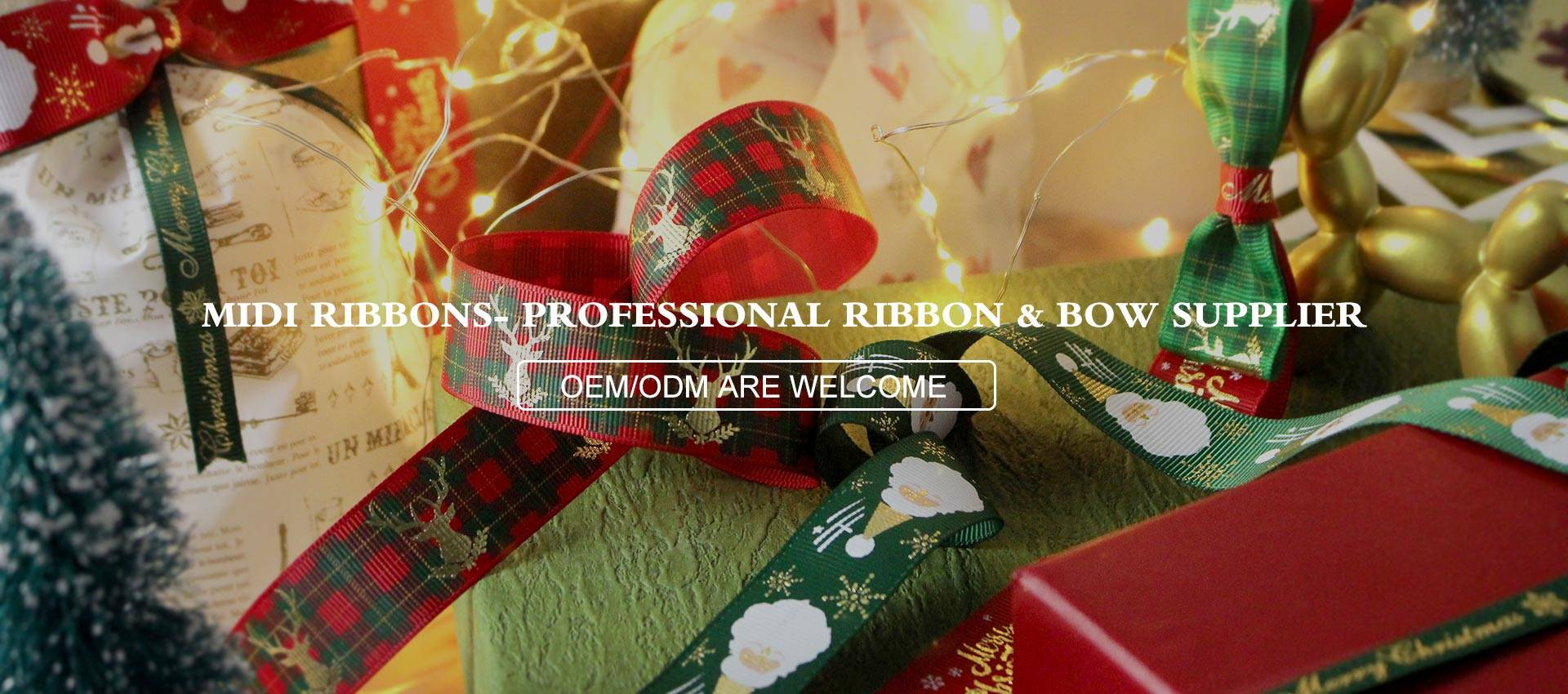 MIDI Ribbons- Professional  Ribbon & Bow Supplier