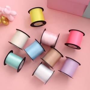 50mm 2 inch santin ribbon solid color