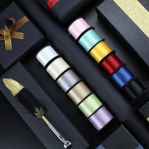 satin ribbon 25&38mm