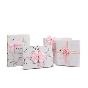 Custom decorative package bows pink