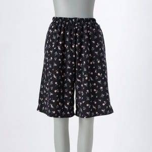 Women'S Print Waistband Pantskirt With Pocket