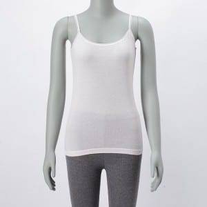 Lady Copper Ammonia fiber Tank Top With Lace