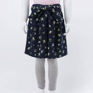 Girl's Knitting Print Skirt