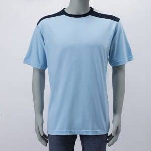 Men'S Knitting Polyester Short Sleeves T-Shirt