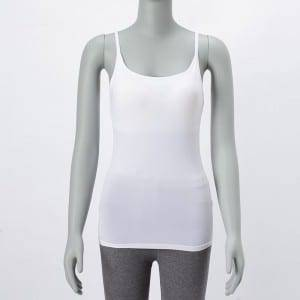 Ladies Fitness Warna Solid Bra Top