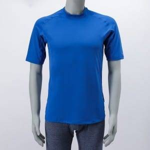 Knitting Short Sleeve Polyester Sport Wear Men'S