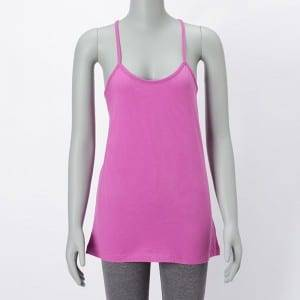 Lady Cotton Solid Color Tank Top