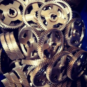 High Precision Brass Gear Metal Helical Gear