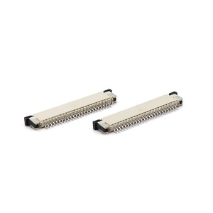 1.0mm FPC H=2.5 right angle SMT slider series