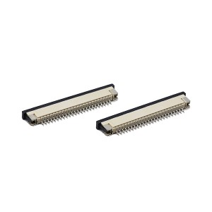 1.0mm FPC H=2.0 right angle SMT slider series