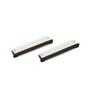 0.5/1.0mm pitch FPC slider series Vertical type
