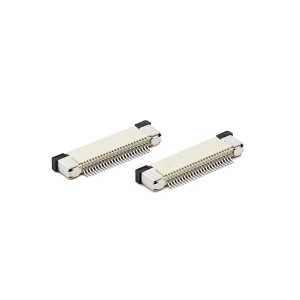 0.5mm FPC H=2.0 ,3.0 slider series right angle SMT type
