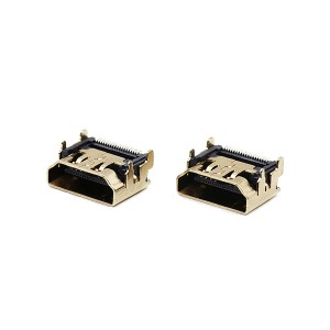 HDMI A type female connector for PCB