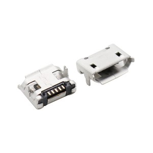 MICRO USB 5P female socket 5pin 7.2mm pitch with post and edge