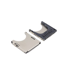 SD card connector SMT socket