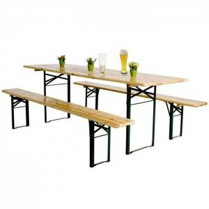 OEM Factory for Wooden Outdoor Pinic Table – Hot Sale Foldable Wooden Beer Table Set with Benches XH-V013  – Xuanheng