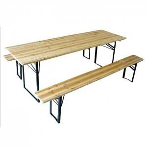 High Quality for Beer Table With Benches -
