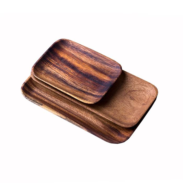 Restaurant Wooden Food Serving Tray  XH-K006