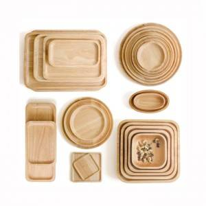 Hot sale Wooden Bamboo Serving Rolling Tray – Various Size Wooden Tray – Xuanheng