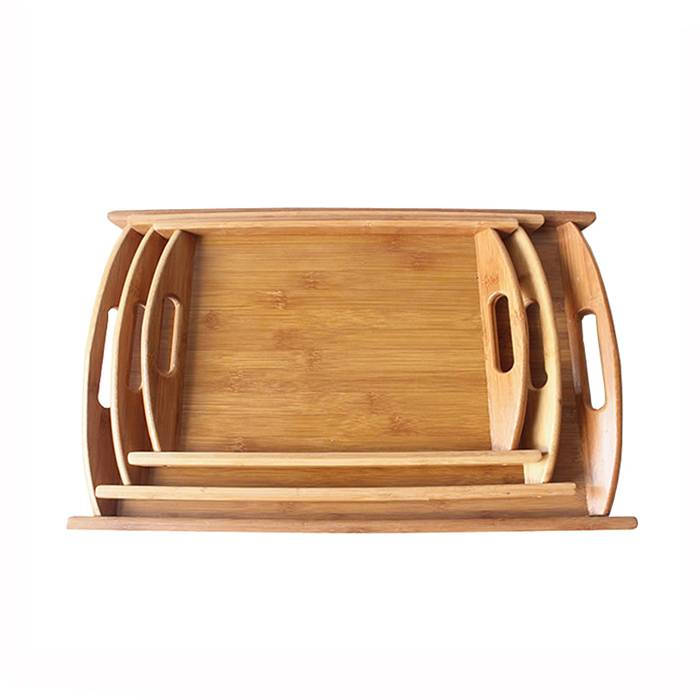 2019 China New Design Bamboo Bath Accessories Set -