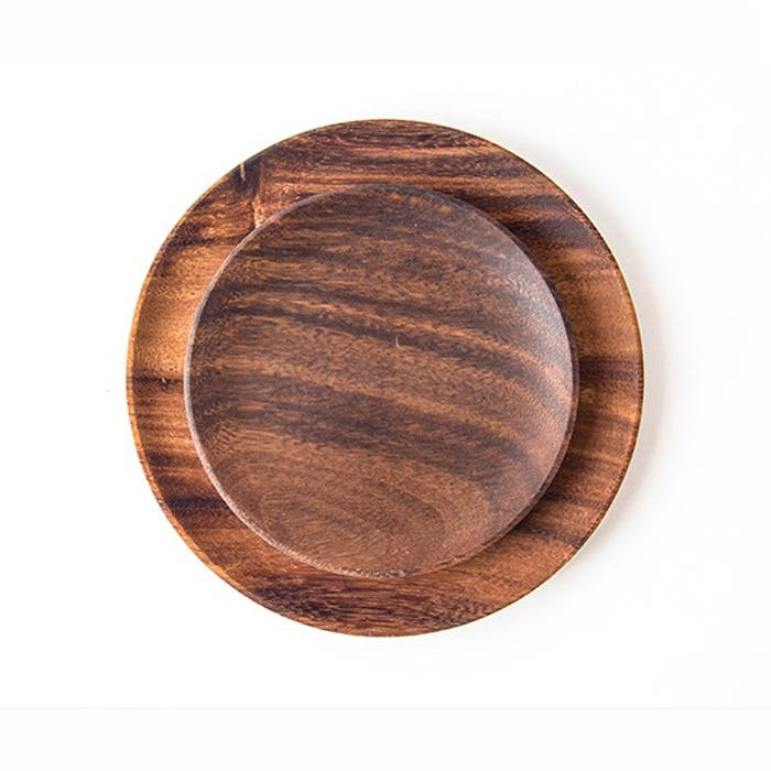 Hot sale Wooden Bamboo Serving Rolling Tray – Black Walnut Wood Serving Tray  XH-K007 – Xuanheng
