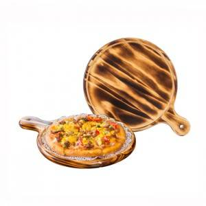 Hot sale Wooden Bamboo Serving Rolling Tray – 6-14 Inch Round Wood Pizza Board  – Xuanheng