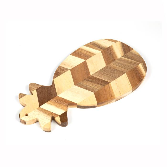 Pineapple Shape Wood Chopping Board