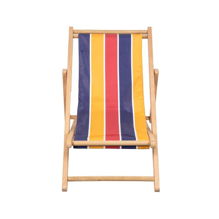 Kids Outdoor Folding Wooden Beach Sling Chair XH-W005