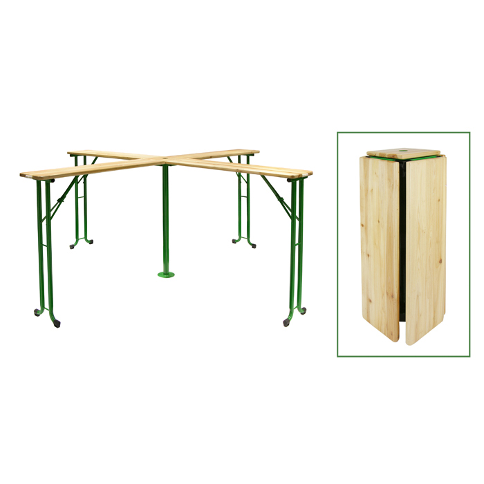 Extend Outdoor Garden Wooden Beer Table XH-V021