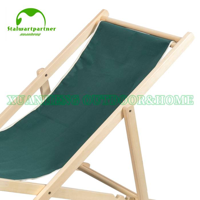 OEM Factory for Wooden Outdoor Pinic Table – Outdoor Folding Camping  Wooden Sling Beach Chairs XH-X011 – Xuanheng