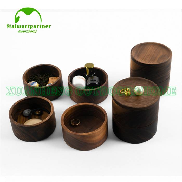Wholesale Price Round Wooden Tray -