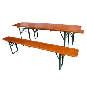 Good Quality Wooden Beer Table -