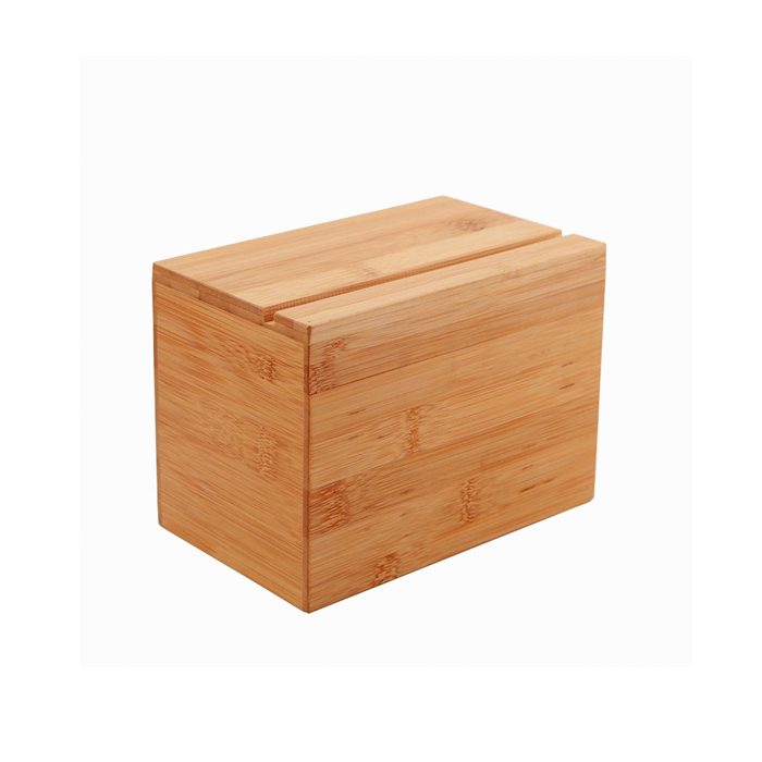 Custom Bamboo Recipe Box