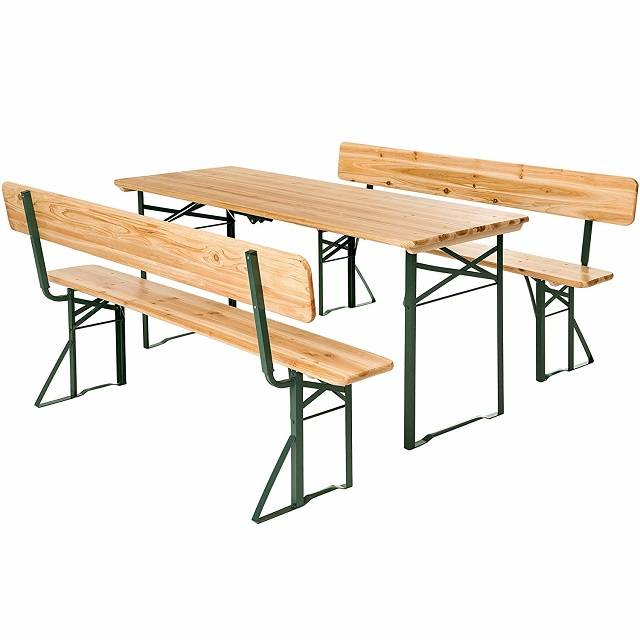 Wooden Folding Beer Table Bench Set XH-V023