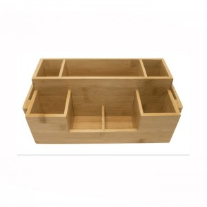 OEM Customized Bamboo Coffee Box -