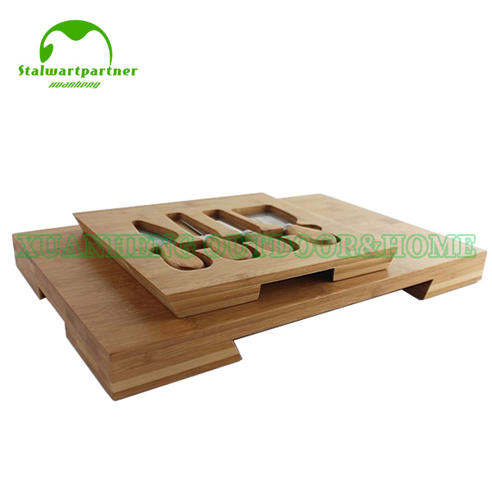 100% Original Factory Double Bamboo Bread Box -