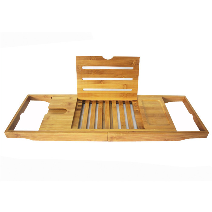 Best quality Bamboo Bathtub Caddy -