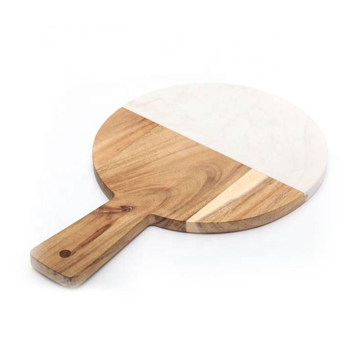 Wholesale Acacia Wood Cutting Board With Marble  XH-G043