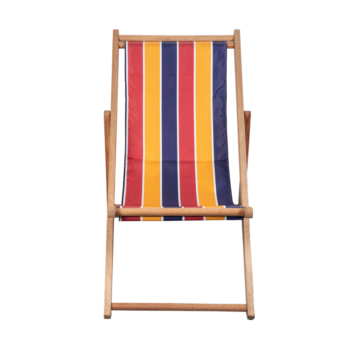 Outdoor Wooden Beach Sling Chair XH-X006 Featured Image