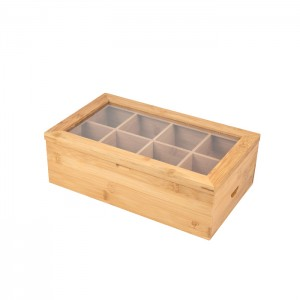 Bamboo Essential Oil Box With Lid