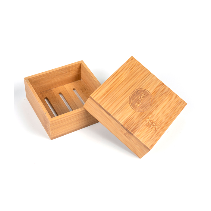 Natural Bamboo Soap Box