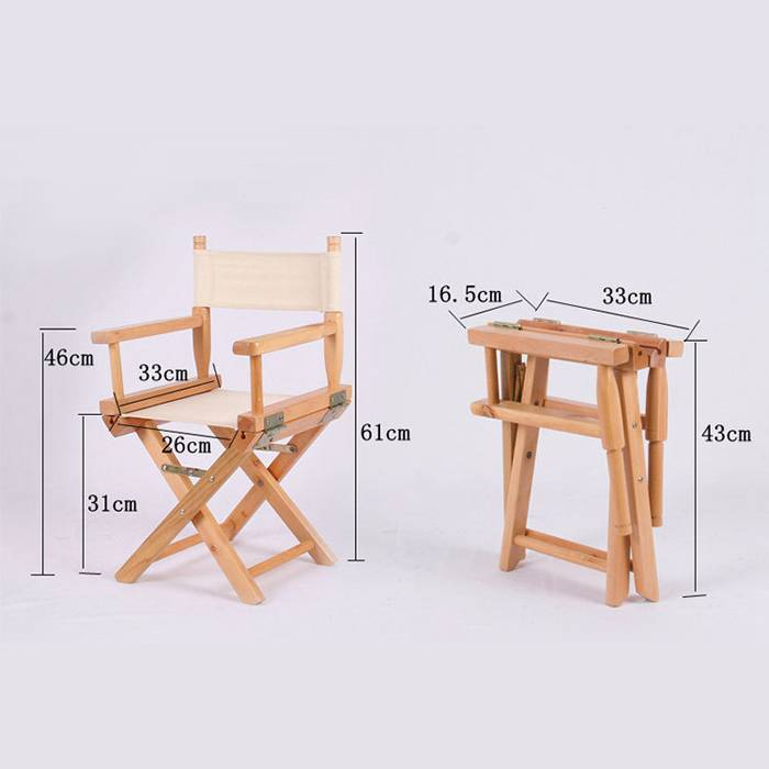 Factory Cheap Hot Wooden Foling Table Set -